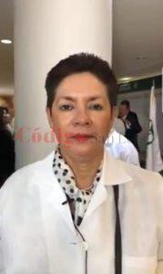 a doctora María Guadalupe del Rosario Garrido Rojano