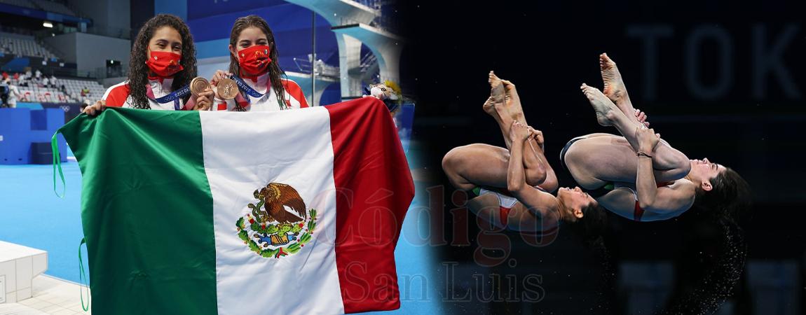 ¡Y llega en clavados! México obtiene segunda medalla en Tokyo 2020