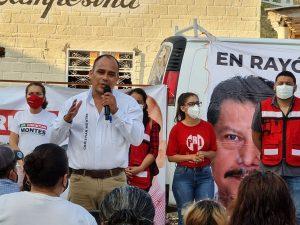 Jefe de la Jurisdicción Sanitaria IV, Christian Montes Mares,