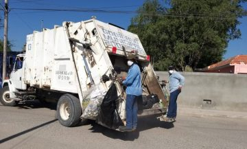 Feto en la basura en Rioverde