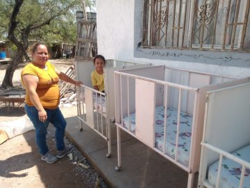 donación cunas dif matehuala