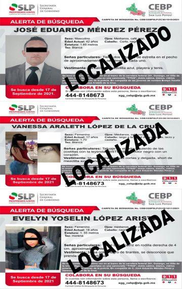 Localizados policía municipal SLP