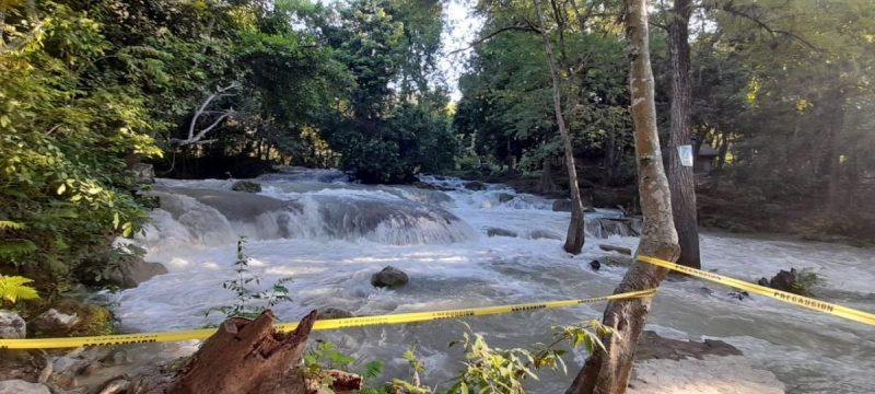 Suspenden actividades acuáticas - Cascadas de Micos