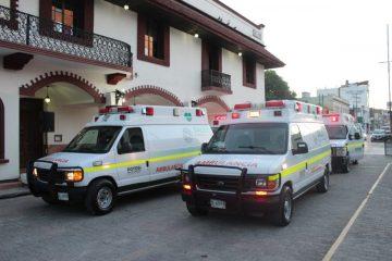 ambulancias gobierno estado - valles