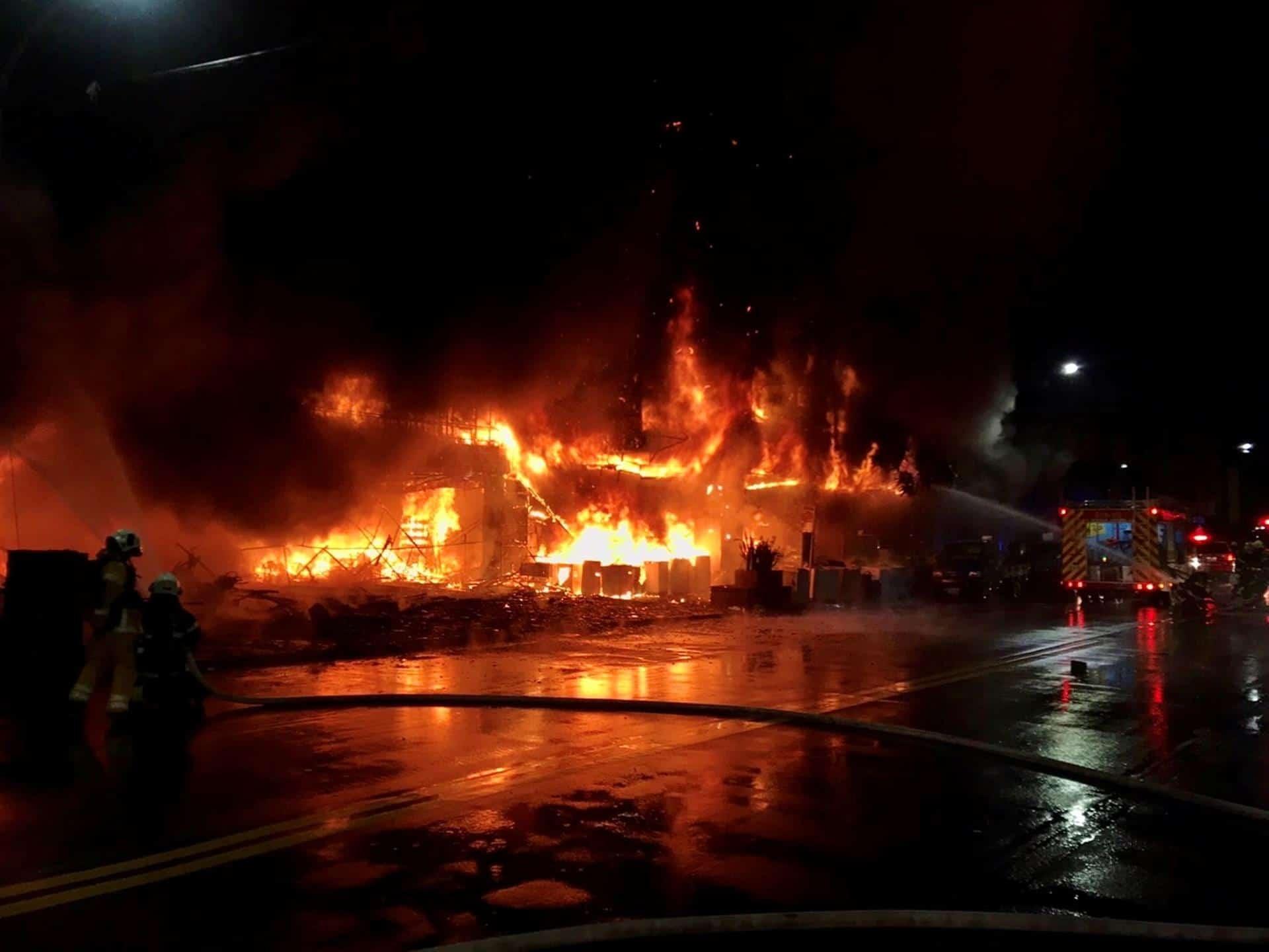 incendioedificio-taiwán